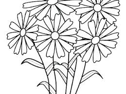 Coloring Pages Flower Coloring Pages Tropical Flowers Stained