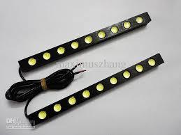 12 Volt Led Light Strips Fascinating Drl 32x Led Light Strip 32v Universal Car Daytime Running Lights Auto