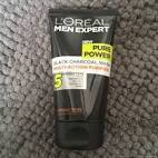 loreal black charcoal pure power