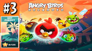 Angry Birds Reloaded: HOT PURSUIT Level 31 To 45 (3 Stars), GamePlay  Walkthrough - YouTube