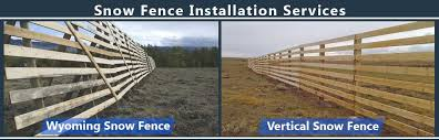 advantages of having snow fences installed on your property