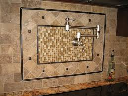 Kitchen Wall Tile Patterns Kitchen Tile Design Large Dream Kitchen With Dark Wood Cabinets