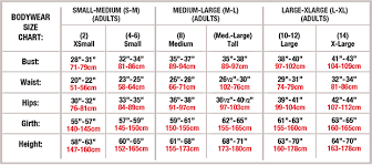 Full Body Measurement Chart Body Wrappers Retailers Only
