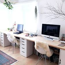 double desks for home office. Double Kids Desk Creative Desks Home Office Best Throughout Ideas For R