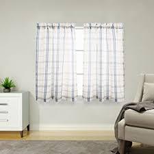 Checkered Kitchen Curtains