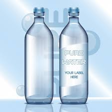 Blank Water Bottle Labels Water Bottles With Blank Labels Vector Free Download