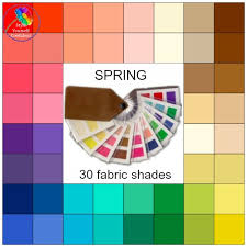 Vw Spring Color Chart Seasonal Color Analysis Spring