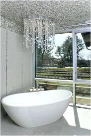chandelier bathroom lighting master bath