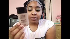makeup forever mat velvet foundation review