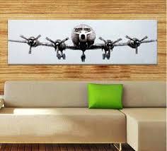 metal airplane wall decor