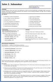 Restaurant Manager Resume Examples Awesome Restaurant Manager Resume
