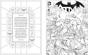 Comic Coloring Pages Amazon Com Dc Comics Book 9781608878291 Insight
