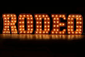 5 letter package in double trouble font custom sign marquee inside lighted marquee letters