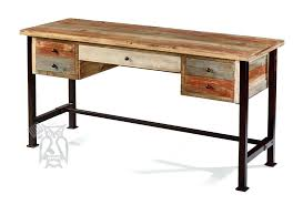 writing desk with drawers solid pine wood rustic 5 drawer writing desk with metal legs in writing desk with drawers small