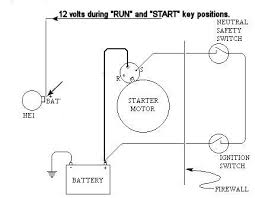 1965 chevy starter motor wiring wiring diagram fascinating