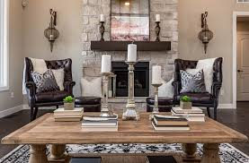 decorate a rectangular living room