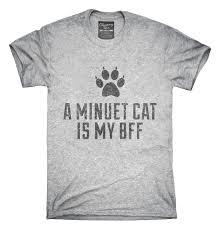 Cute Minuet Cat Breed T Shirt Hoodie Tank Top Gifts