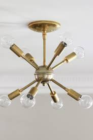 well known awesome new sputnik chandelier mid century style lighting source with regard to mini sputnik