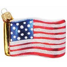 Christbaumschmuck Kleine Amerikanische Flagge