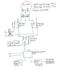 Dual sd fan wiring diagram thermostat control at relay