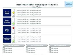 Project Status Reporting It Project Status Report Template Multiple Reporting Excel Xls