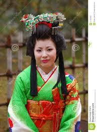 Japanese Lady In Kimono Himeji Japan Editorial Stock Photo Image
