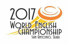 Playful Modern Event Logo Design For 2017 World English