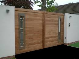 wooden gate design images ideas impressive wooden gate designs with outstanding modern style