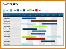 power point gant chart 8 gantt chart in powerpoint weekly agenda planner