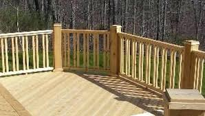 wood deck railing ideas. Double Vertical Baluster Design Wood Deck Balusters Railing With Metal Of Ideas Designs