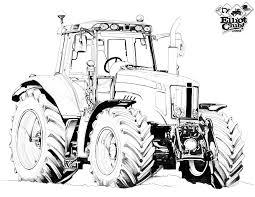 Tracteur A Colorier Massey Ferguson Elliot Club