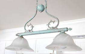 painting light fixtures. Painting-Verdegris-on-a-light-fixture Painting Light Fixtures R
