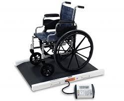 wheel chair scale. Detecto 6500 Easy Access Portable Wheelchair Scale Wheel Chair
