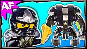COLE's EARTH MECH - Custom Lego Ninjago 70723 70500 Stop Motion Review -  YouTube