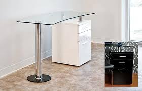 glass top office desk. modern glass top office desk ba 28 s