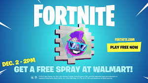 Walmart Is Giving Out An Exclusive Fortnite Spray For Free This
