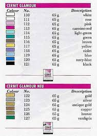 Cernit Color Chart The Polymer Clay Cernit Glamour And Cernit Glamour Neu