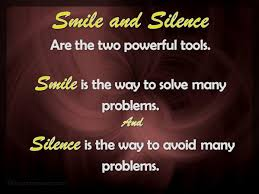 Quotes on smile Smile and Silence 76