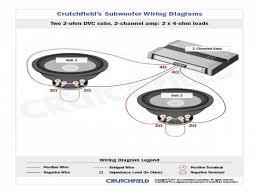 subwoofer wiring diagram crutchfield wiring automotive wiring F150 Factory Sub Wiring 4 ohm dvc subwoofer wiring diagrams free download subwoofer wiring diagram crutchfield at elf