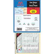 Maptech Folding Waterproof Chart San Diego To Dana Point