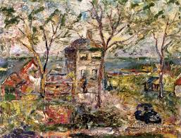 david davidovich burliuk paintings for landscape on long island