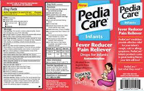 Pediacare Infants Fever Reducer Cherry Liquid Blacksmith