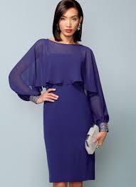Vogue Patterns 1532 Misses Slip Dress And Embellished Cuff Cover Up