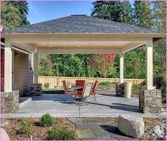 how to attach a patio roof to an existing house inspirational wood patio cover designs wooden