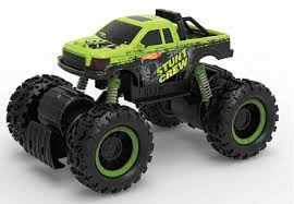 Машинка зеленая Hot Wheels <b>монстр</b>-<b>трак фрикционный</b>, <b>1</b>:16, с ...