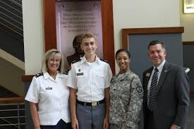 news military college character development community service general interest prep school ""