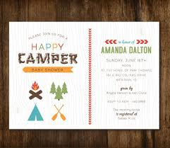 Mesmerizing Camping Themed Baby Shower Invitations 51 For Your Camping Themed Baby Shower Invitations