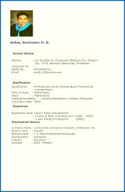 Resume Writing Format Pdf Sarahepps Com
