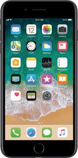 iphone 7 plus black. apple - iphone 7 plus 128gb black (at\u0026t) front_zoom iphone p