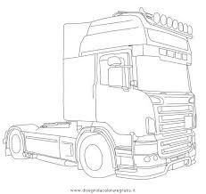 Disegni Da Colorare Camion Scania Fredrotgans